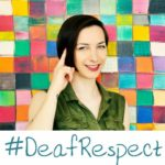 Zdjęcie Agi Osytek - znak 'Deaf'